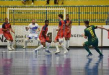 Clássico Assoeva e agora Santa Cruz Futsal (ex-Assaf) movimentam a elite do salonismo Vale do Rio Pardo (Foto: Roni Müller/Folha do Mate)